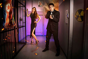 Hard Escape Room Haifa: Agent 007
