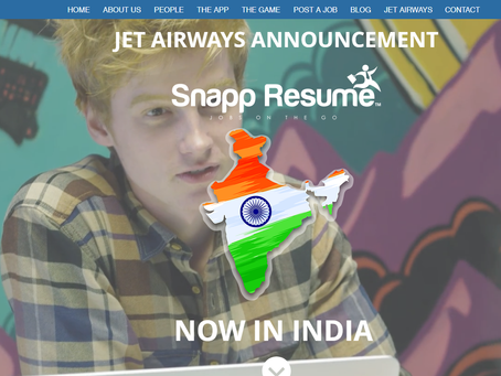 SNAPP GOES TO INDIA!