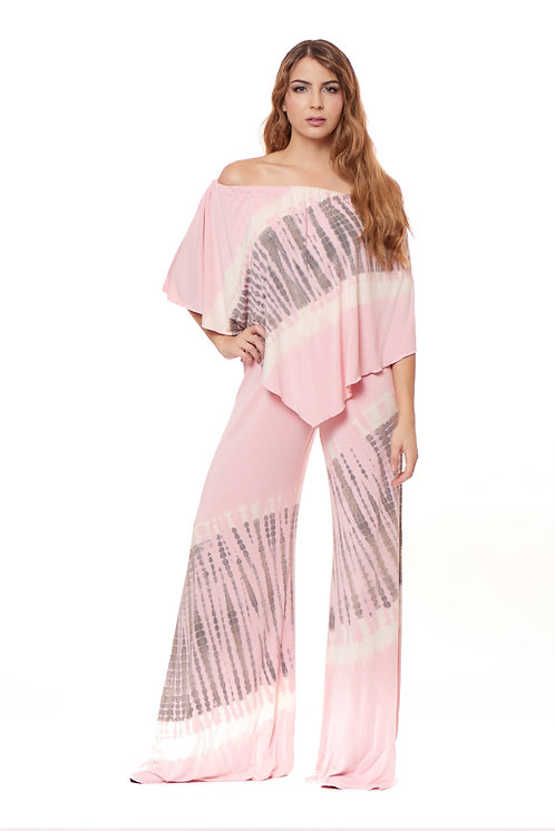 REVISION-PINK 3-WAY ANGEL JUMPSUIT