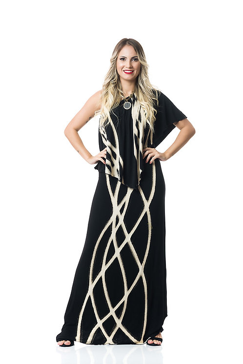 PARALLEL 3-WAY ANGEL MAXI DRESS