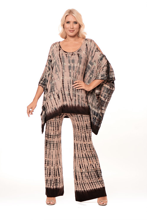 LOOMING CUT SHOULDER TUNIC