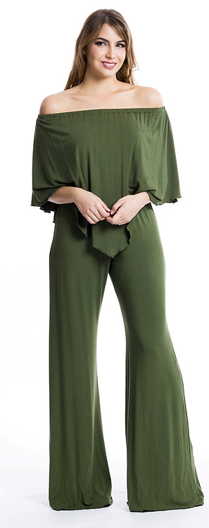 SOLID 3-WAY ANGEL JUMPSUIT