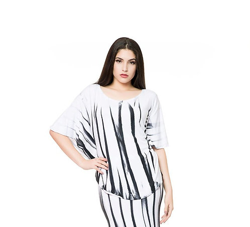 BAMBOO/3 BUTTERFLY TUNIC
