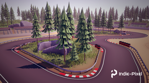 Procedural Race Track Creation in Houdini and Houdini Engine
