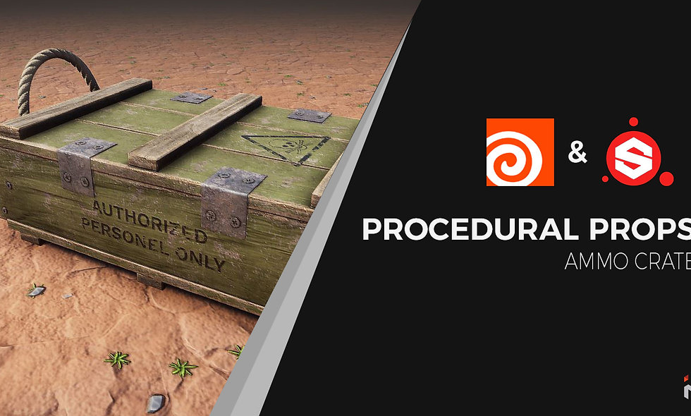 Procedural Props - Ammo Crate Course