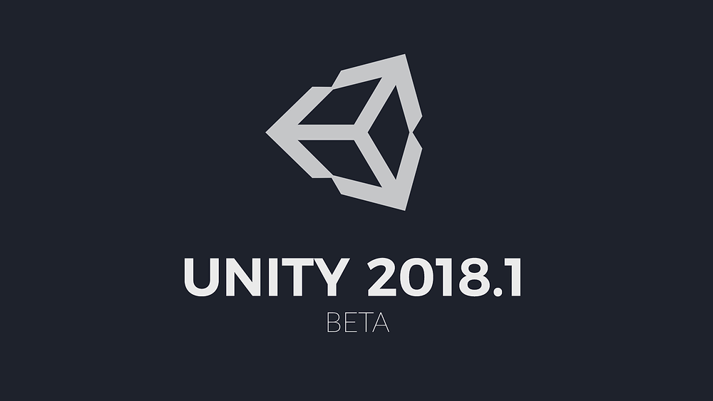 Unity 2017 Logo about the Beta