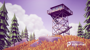 A complete re-creation of the Firewatch Tower, from the FIrewatch game, done in Houdini, the Houdini Engine and Unity 2019