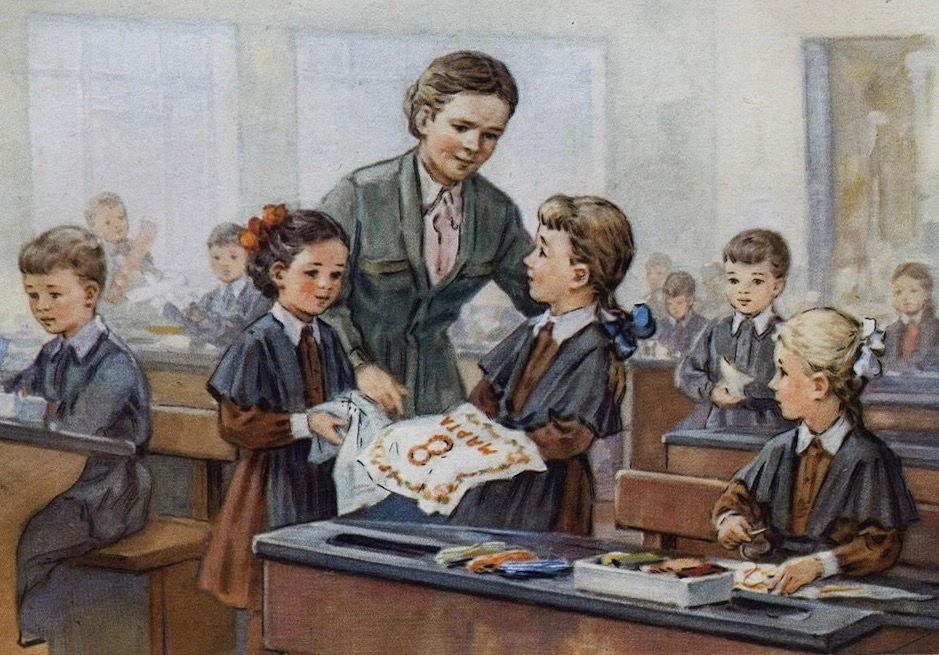 Картинки про советскую школу и на школьную тематику