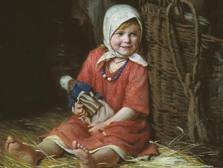 Славянская Кукла-Мотанка.