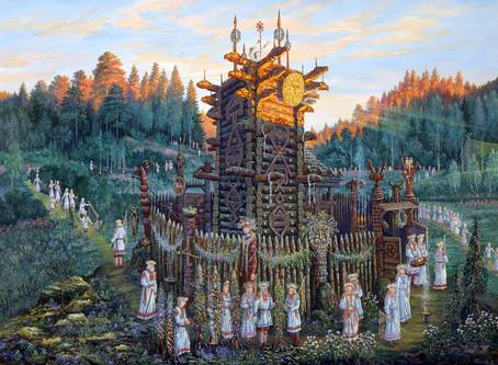 Числобог - Славянский Бог Времени и Чисел