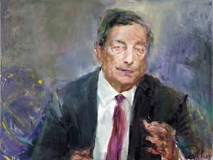 Porträt Mario Draghi
