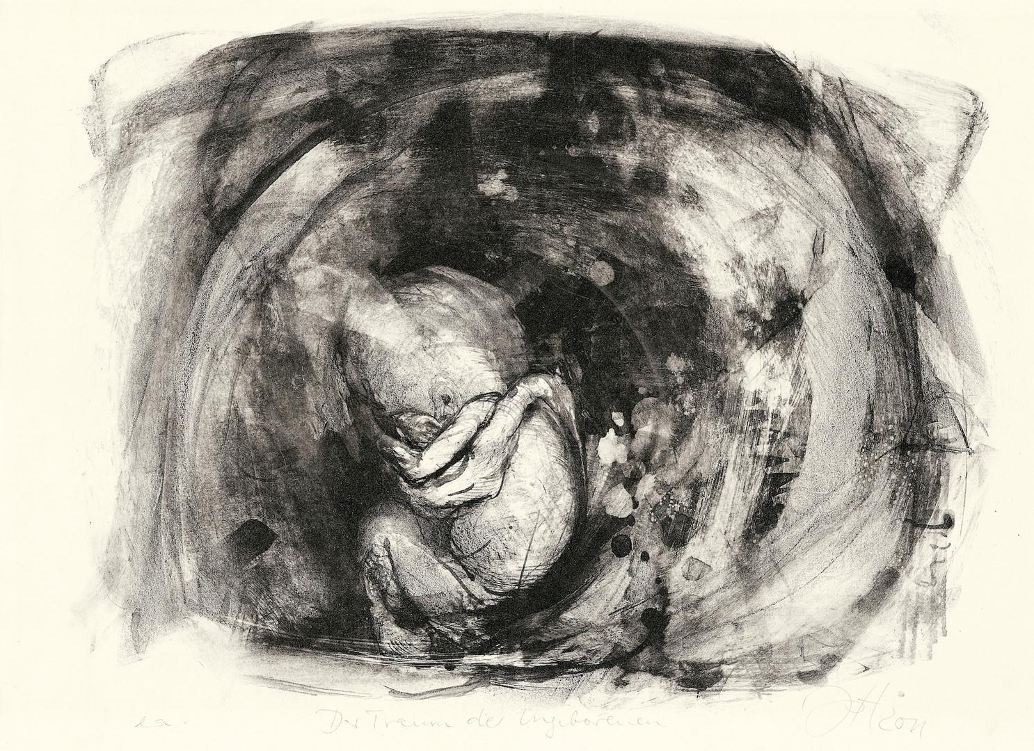 Blatt 9 Der Traum des Ungeborenen