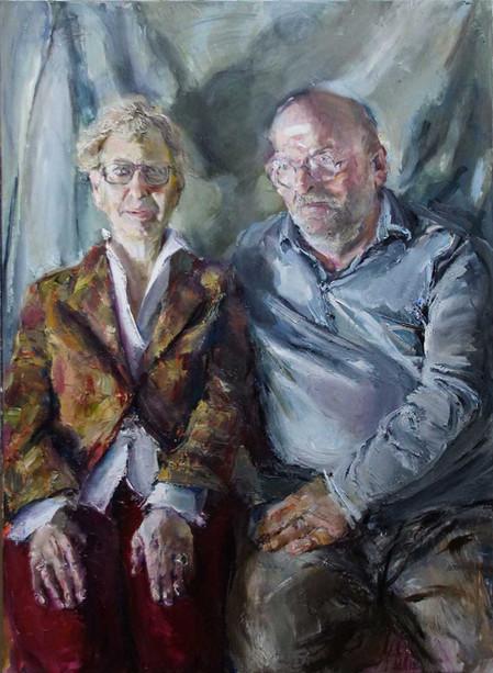 Porträt der Eheleute Döring