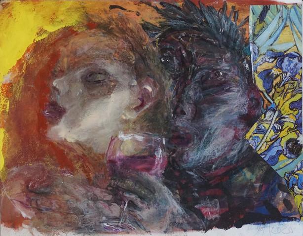 Sibylle und Bacchus