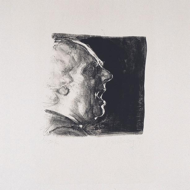 Porträt Van Morrison