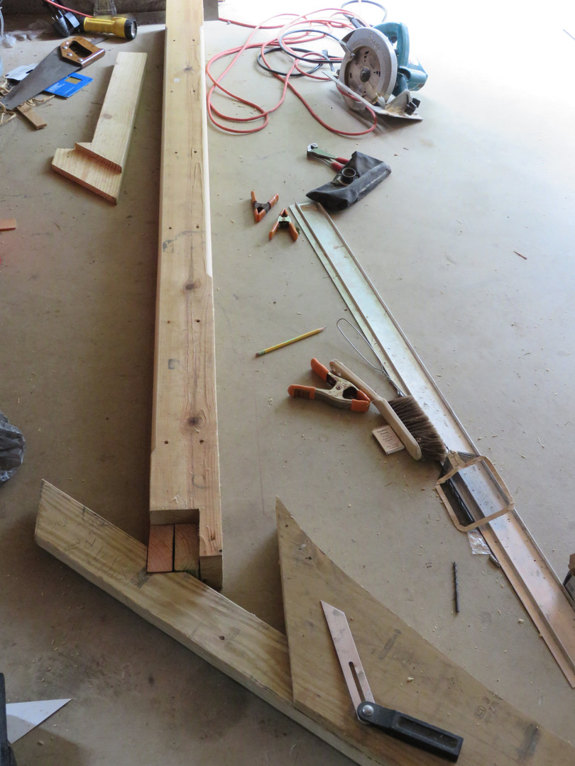 The First Steps: constructing the new arbor