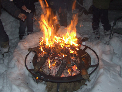The Solstice Fire