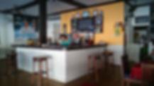 Bar room, Zen inn, Padang bai, Bali