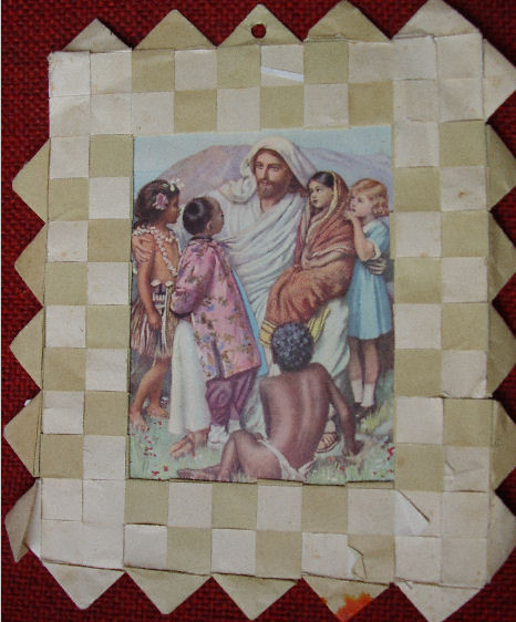 Jezus zegt: : Laat de kinderen tot Mij komen