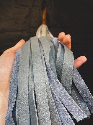 Grey Leather Flogger