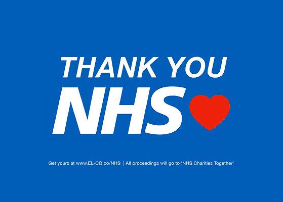 THANK YOU NHS ❤️ Sticker