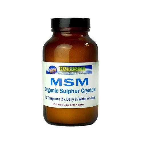 MSM Organic Sulphur Crystals