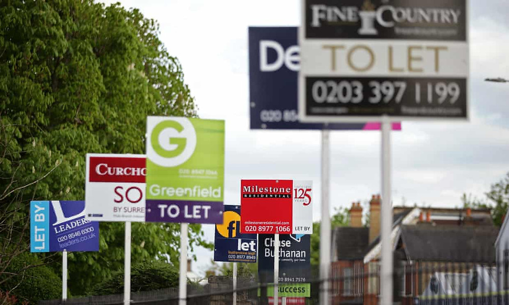 """Landlords said demand from EU nationals had slowed, but insisted rents would have to rise in 2019 to claw back money lost through buy-to-let tax changes and the letting fees ban, which comes into force in June.  John Stewart of the Residential Landlords Association said: """"Rics has warned that with demand outstripping the supply of rental properties, rents could increase in 2019 by an average of 2%. Certainly we are seeing shrinking investment in the sector because of the extra taxes being levied on landlords.  """"To counterbalance this, uncertainties around the impact of Brexit, including on house prices, may be encouraging longer tenancies, which results in fewer rent increases.  """"There is also slowing demand for rental properties from EU nationals, the benefits freeze, and more people are leaving London, which makes up a considerable proportion of the private rental market in the UK. These are all likely to be having a downward effect on rents."""""""