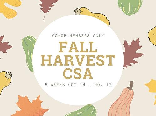 Fall Harvest CSA - Single Box