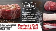 Devesa Participará en Ravintola 2019 del 6 al 7 de marzo en Helsinki Finlandia