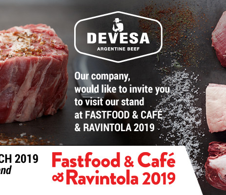 Devesa will participate in Ravintola 2019 from the 6th to the 7th of March in Helsinki Finland