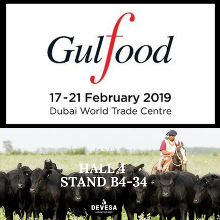 Devesa will participate in GULFOOD from the 17th of February until the 21st, in Dubai. We'll see