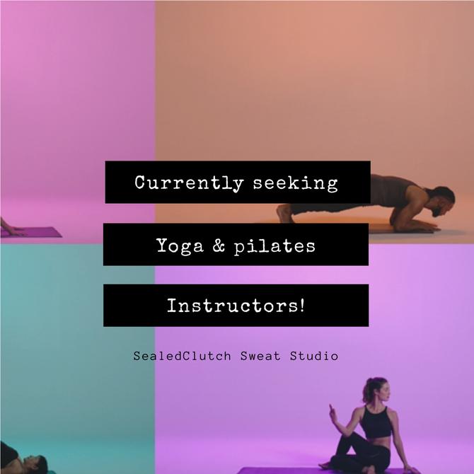 Seeking Yoga & Pilates rock stars!