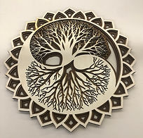 Tree Mandala - Art Wall Decor