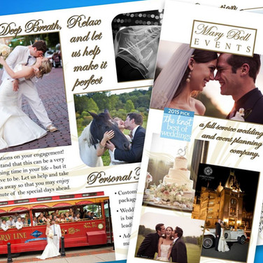 Wedding Planners Brochure