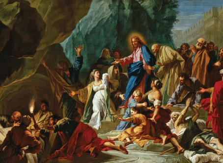 The Second Death of Lazarus (Pt. 1 of 3)