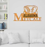 College Wall Name Plaque