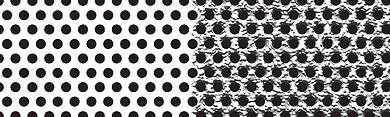 Dot gain or spread