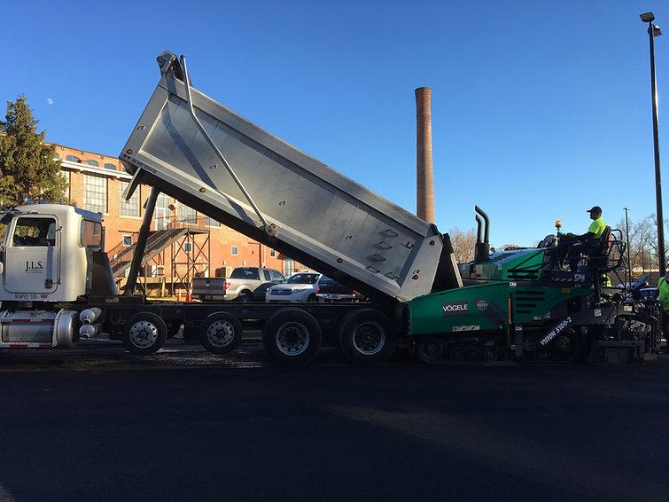 JLS Company Paving Truck