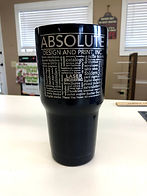 Laser Engraved Thermal Tumblers