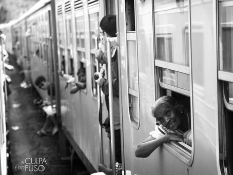 De trem pelo Sri Lanka