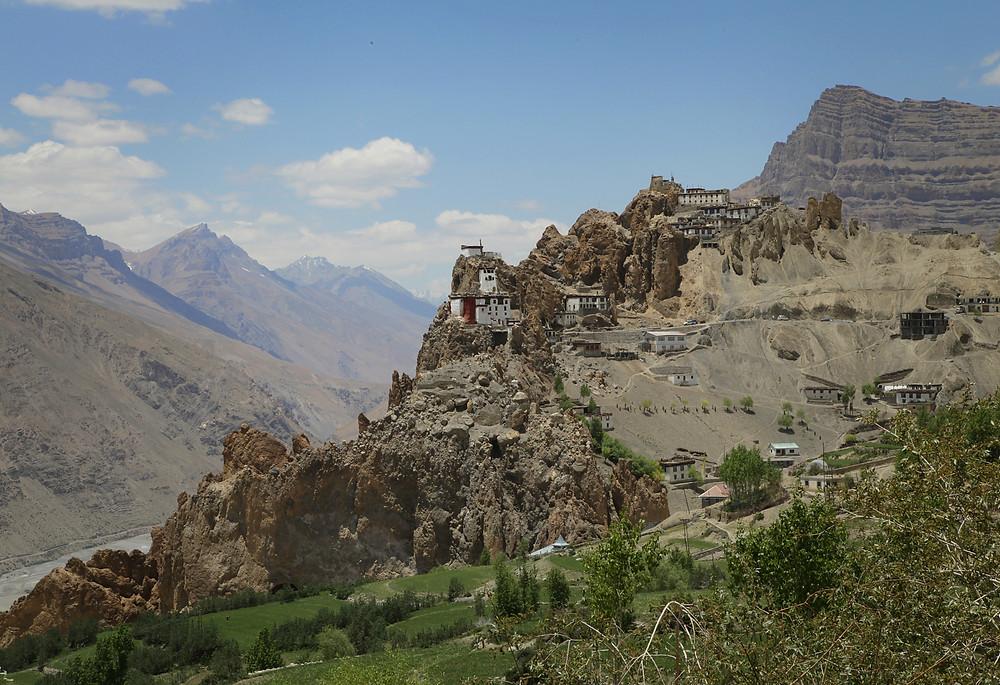 dhankar monastery india