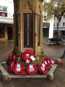 Wreaths: Yeovil
