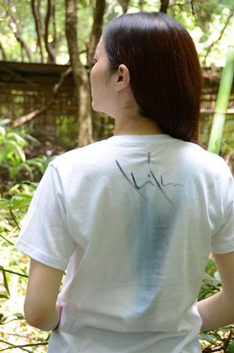 暈し描き+ステッチ Tシャツ