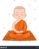 stock-vector-little-meditating-monk-in-t