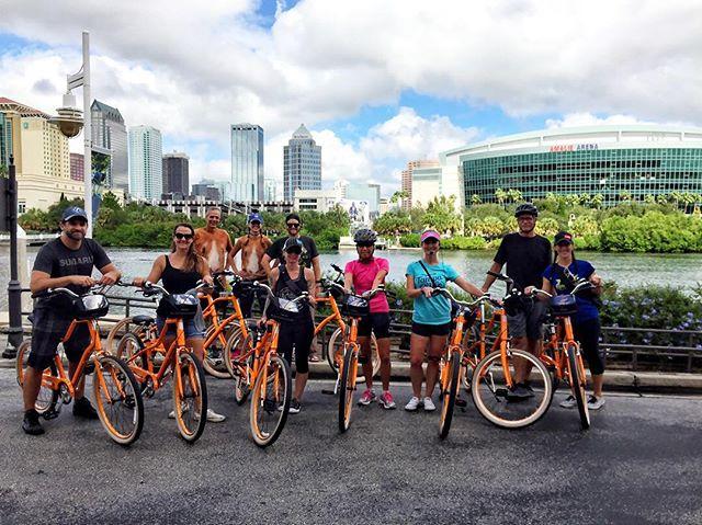 Tamp By Bike City Showcase Tour