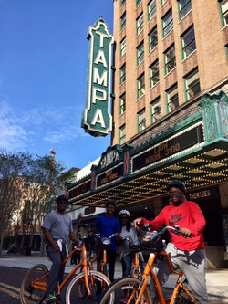 Tampa By Bike at Tampa Theater