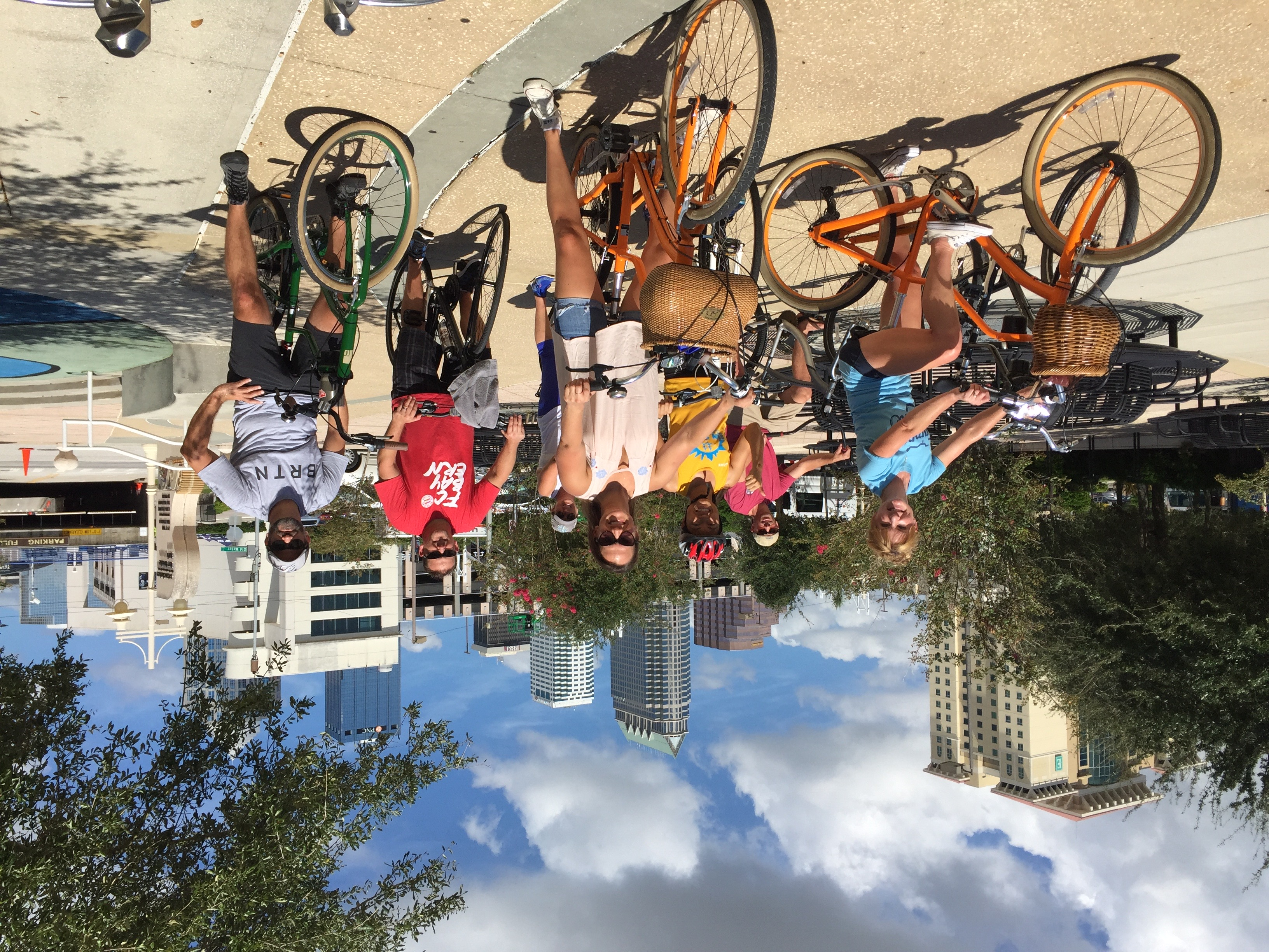 Tampa By Bike Tour Stop #1