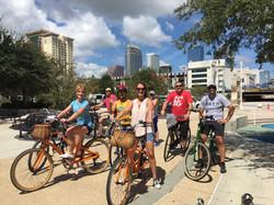 Tampa By Bike Tour Stop #1