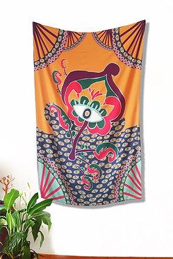 Canga (ou bandeira decorativa) - Estampa Flor
