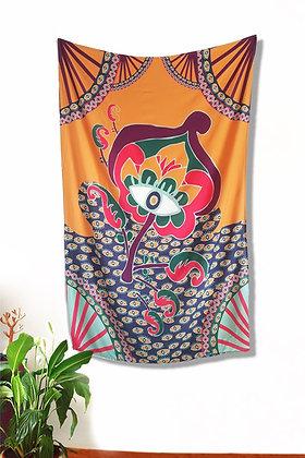 Bandeira Decoração / Canga - Estampa Flor